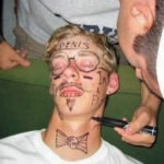 passed-out-college-guy-gets-drawn-on-by-mates-rude-funny
